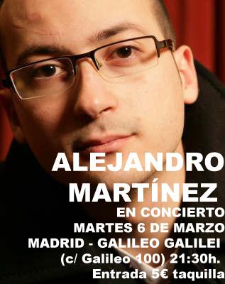 Alejandro Martínez hoy en Madrid