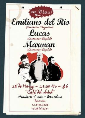 Lucas y Marwan en Argentina