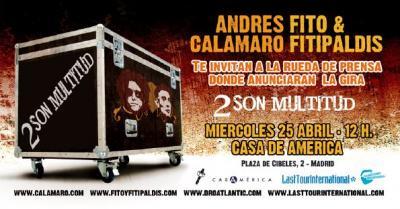 Andrés Calamaro y Fito & Fitipaldis