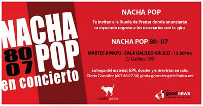 Gira de Nacha Pop